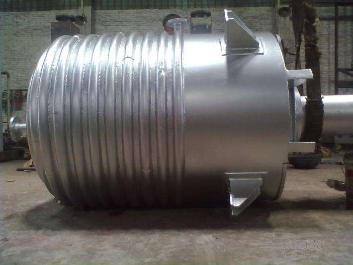Outer coil stainless steel reaction pot